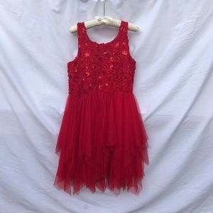 Justice Girl's Sleeveless Sequin Dress, Size 16+